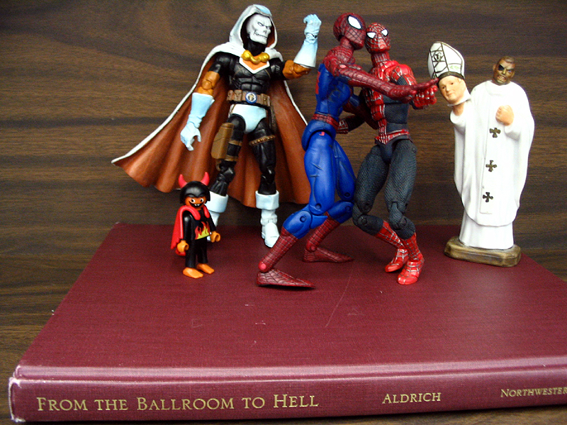 From the Ballroom To Hell Toys in the Bookstacks