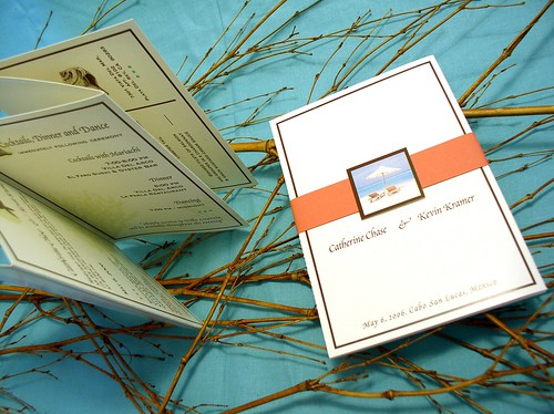 beach wedding invitations. Beach theme Wedding