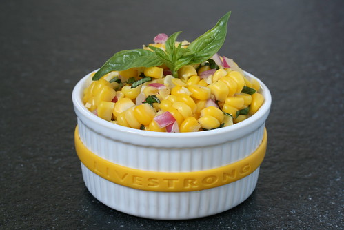 Living Strong Spicy Fresh Corn Salad
