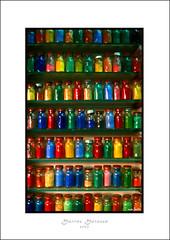 Colors (mansmith) Tags: colors bottles market couleurs morocco marrakech medina march marroc farben zoco mercat flessen nikonf70 bouteilles marroko maroko ampolles mywinners marrqueix colourartaward maraskesz
