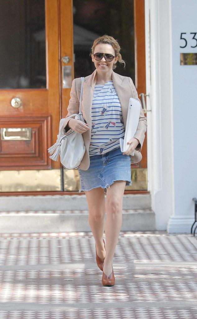 Kylie Minogue wears vintage Porsche Sunglasses