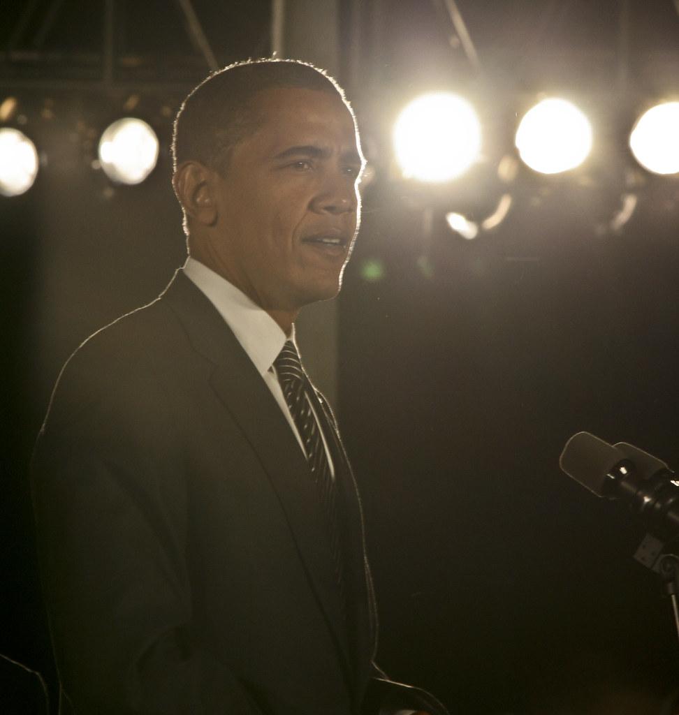Barack Obama Rally-9587