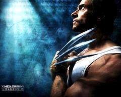 X-Men-Origins: Wolverine (Monja  con  patines) Tags: men film beauty movie james hugh australian australia smith x xmen weapon barry windsor mutant hottie logan marvel jackman wolverine origins howlett lobezno