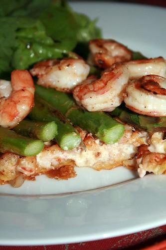 Shrimp and Asparagus Tarts 2