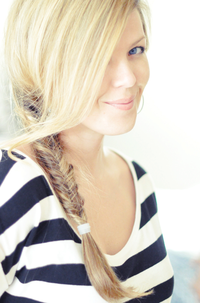 Hair+Side fishtail braid hair tutoria, fishtail video