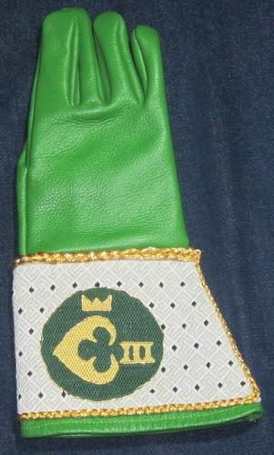 Queen's glove (front)