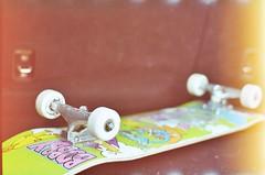New Setup (andrewallenmoore) Tags: new film up set back skateboarding personal andrew moore skate skateboard trunk trucks setup thunder minoltasrt202 krooked