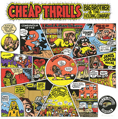 "Robert Crumb, ""CHeap Thrills"" album cover"