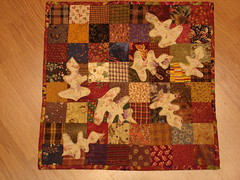 fall doll quilt