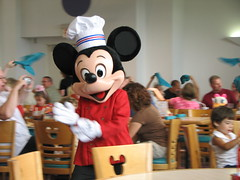 Chef Mickey Mouse (PrincessAshley) Tags: world trip travel autumn vacation fall orlando florida disney mickey september disneyworld dining fl wdw waltdisneyworld kissimmee magickingdom 2007 disneys characterdining chefmickeys contemporaryhotel disneyparks yearofamilliondreams