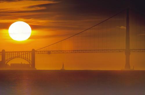 Golden Gate from Treasure Island