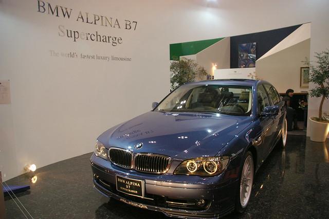 show car tokyo october alpina s bmw motor b7 2007 supercharge k100d