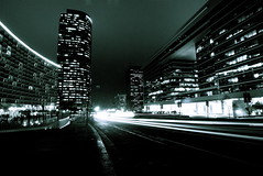 nightlife (SMGallery (MooreFoto.com)) Tags: california longexposure losangeles nikon nightimages nightshot headlights nightshots 1224mm centurycity neons nikond80 smgallery