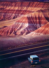 So why is it called the 'Painted Desert'? (kevin dooley) Tags: red arizona favorite orange southwest beautiful wow interesting fantastic colorful flickr pretty very good stripes gorgeous awesome award superior super painteddesert best hills most hues utata winner stunning excellent much navajo incredible breathtaking fourcorners exciting reservation phenomenal aplusphoto colourartaward