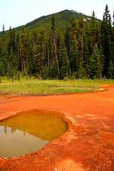 "Kootenay National Park ""Paint Pots"""