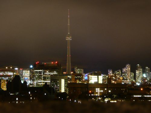 toronto at night 1