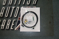 HJB 8256 BA Convertible top latch cylinder hose repair kit, XK8 002 (britishautocare) Tags: top parts convertible repair procedures xk8