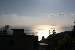 【ラビスタ伊豆山】103号室から眺める朝日と海