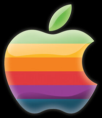 Old Apple Logo Web 2.0