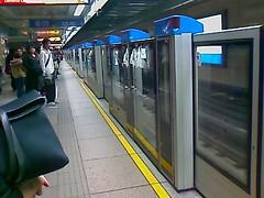 Taipei MRT。It's time to go home 4/6