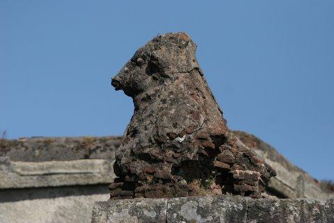weathered nandi yogananthiswara temple top of nandi hills