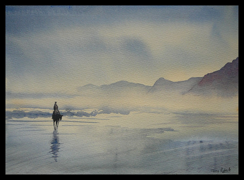 Kerry beach.Watercolour.