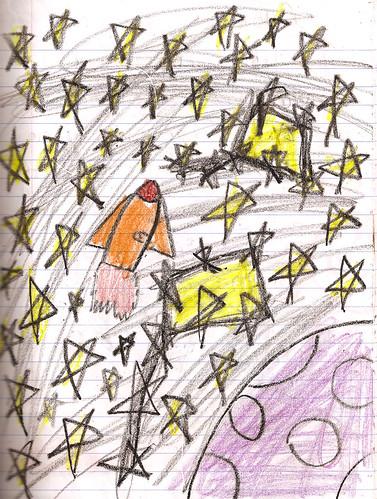 Sarah's rocket
