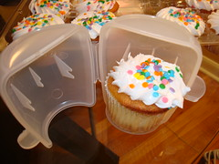 Shipping Cupcake #2, in Cup-a-cake