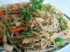 Vegetarian Pancit (museinthecity) Tags: food dinner vegan tofu vegetarian noodles filipino seitan