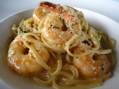 Tiger Prawn Linguine @ Superfamous.JPG