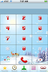 Christmas Dialer designed by MeduZa