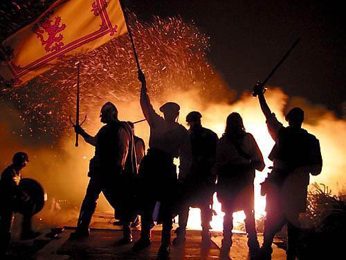 Ritual fin de año escocia