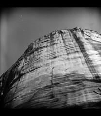 Meteora (B75 - Balkan Record) Tags: sky bw film rock lomo flickr greece lubitel oldies lv meteora