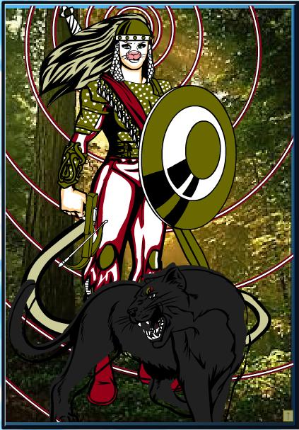 Cattia, My Superhero Self