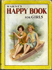 Warne's Happy Book for Girls (snigl3t) Tags: girls happy book annual 1930 warnes bookygoodness warneshappybookforgirls