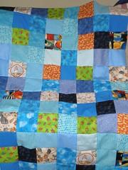 Watercolor Quilt top