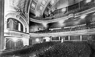 Image: Interior of the Walker Theatre, c 1907. Provincial Archives of Manitoba N132721907