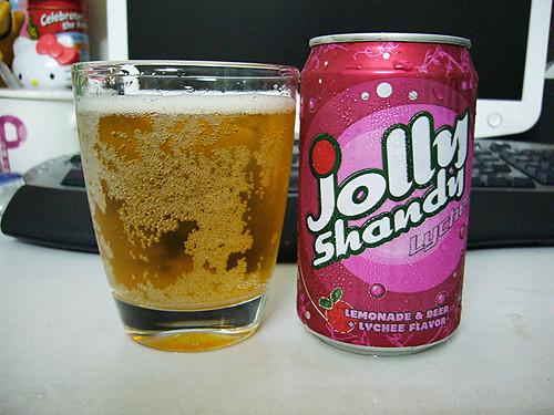 lychee shandy