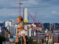 Giant Toddler (rendan) Tags: baby giant kid child sebastian sedona diaper goldengate huge swimsuit brigde boysen