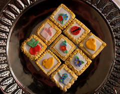 Framed art Cookies 2 (nikkicookiebaker) Tags: decorated