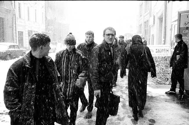 Оег кулик. Москва  1998