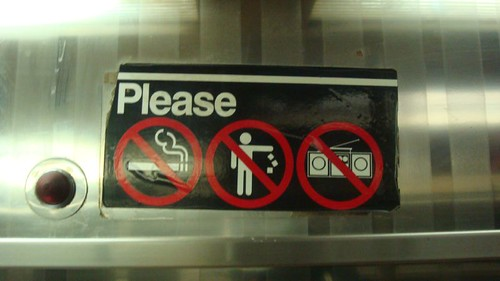 No Stereos!!!