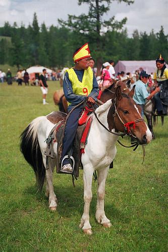Naadam horse racer
