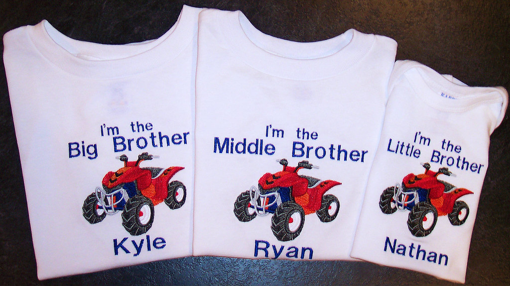 Big/Middle/Little Brother t-shirts