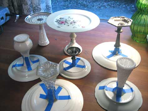 Diy Project Kate S Recycled Cakestands Design Sponge
