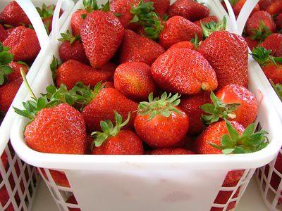 Fresh N.C. Strawberries!