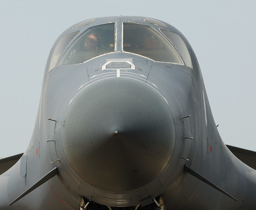 Airplane picture - ILA 2008: B-1 frontal view