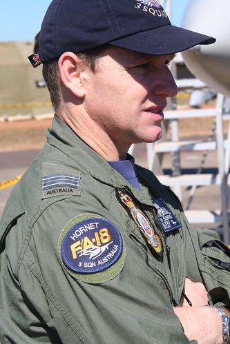 RAAF FA 18 Hornet pilot