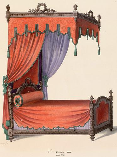 006-Cama estilo Luis XVI
