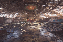 Buzludzha (Timm's World in Decay) Tags: buzludzha exploring bulgaria soviet urbex decay abandoned